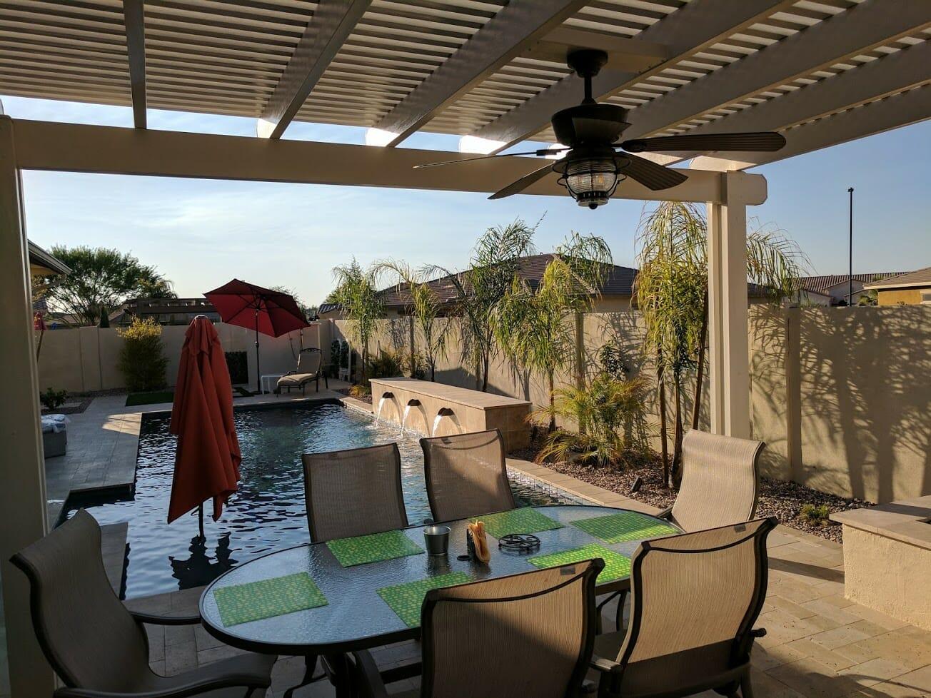 backyard environment u0026 shade structures gilbert az edgewater