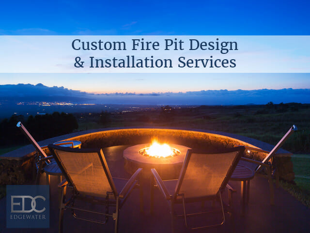 1 Fire Pit Installation In Gilbert Chandler Queen Creek Tempe Az