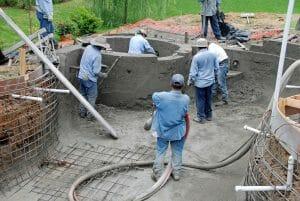 pool building contractor in Gilbert